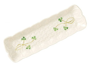 Belleek Mint Tray